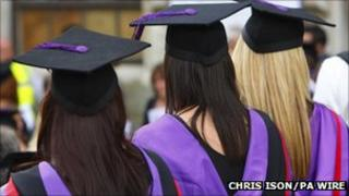 University graduates (Photo: Chris Ison/PA Wire)