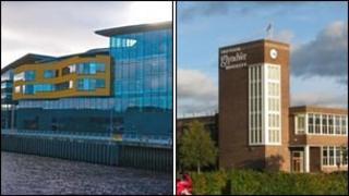 Prifysgol Cymru Casnewydd a Phrifysgol Glyndŵr