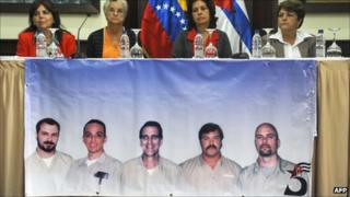 Relatives of the imprisoned Cubans take their campaign for their freedom overseas - September 2011