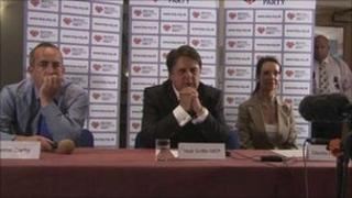 Nick Griffin, Simon Darby