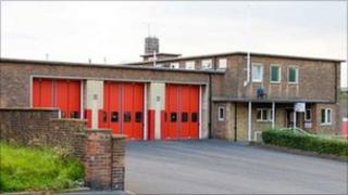 Darnall fire station. Copyright: South Yorkshire Fire and Rescue