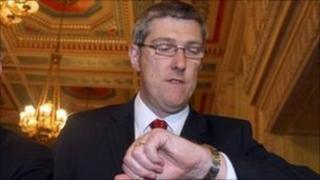 Acting Deputy First Minister John O'Dowd