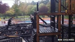 Valley Gardens fire, Harrogate