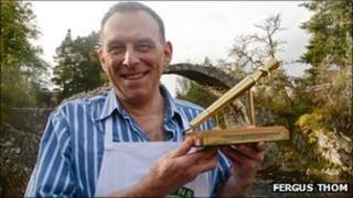 Golden Spurtle winner John Boa. Photo by Fergus Thom