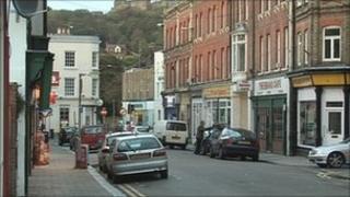 Scene of Worthington Street attack