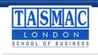 Screen grab of logo on Tasmac university website