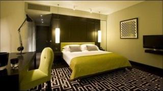 Fitzwilliam Hotel room