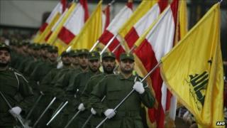 Hezbollah parade - 2009
