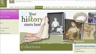 Jersey Heritage website