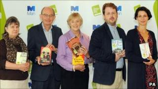 "Booker judges Susan Hill, Chris Mullin, Dame Stella Rimington, Matthew d""Ancona, and Gaby Wood"