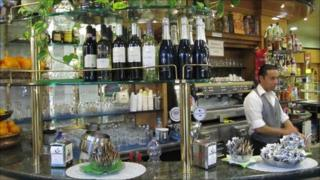 Bartender in Milan