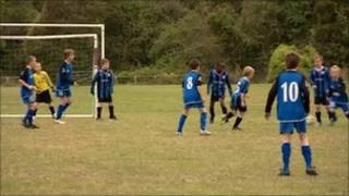 Telford Junior League players