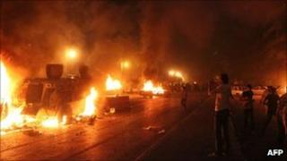 Clash in Cairo on 9 October 2011