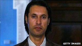 Mutassim Gaddafi - file photo 21 April 2009