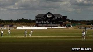 Garon Park cricket ground in Southend