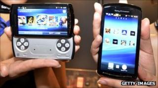 Sony Ericsson phones