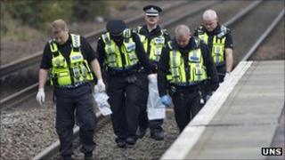 Transport Police officers