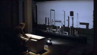 Shadow Orchestra (image from The Sound of Shadows DVD by Jean Martin and Conall Gleeson, published by Wergo)