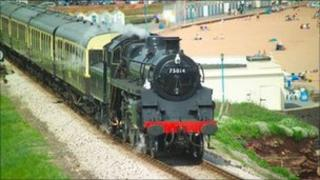 Paignton to Dartmouth steam train. Photo courtesy of freefoto