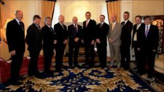 Isle of man Council of Ministers 2011