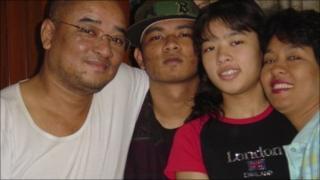 Zargana and his family