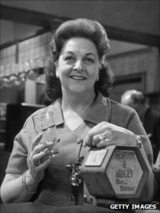 Betty Driver on Coronation Street in 1970