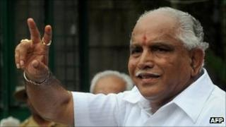 Former Karnataka Chief Minister BS Yeddyurappa