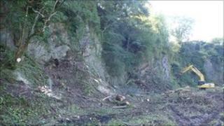 Brofiscin Quarry