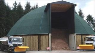 Stroud salt dome