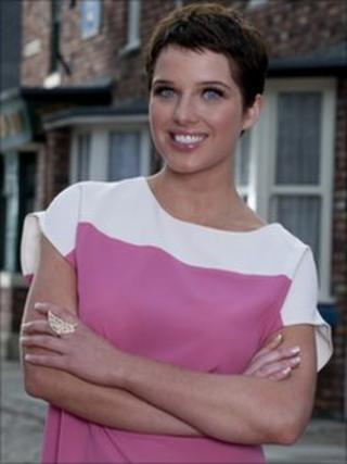 Coronation Street star Helen Flanagan