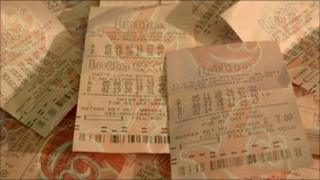 National lottery tickets
