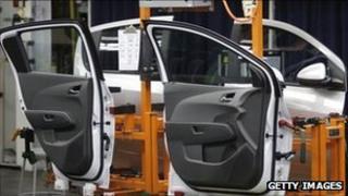 General Motors plant in Michigan