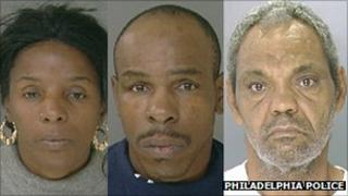 Linda Ann Weston 51, Gregory Thomas 47, and Eddie Wright, 50, are suspected in holding four mental disabled people in a basement