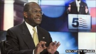 Herman Cain on Meet the Press, 16 October 2011