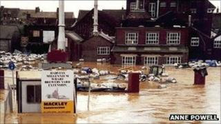 Lewes flooding, photo by Anne Powell