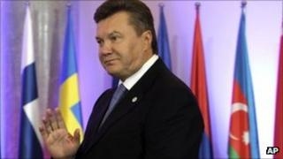 Ukrainian President Viktor Yanukovych. Photo: September 2011