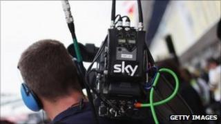 Sky cameraman