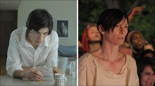Ezra Miller (l) and Tilda Swinton in We Need To Talk About Kevin