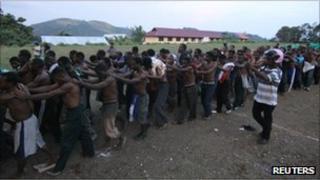 Indonesian police arrest activists