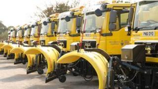 New West Sussex gritters
