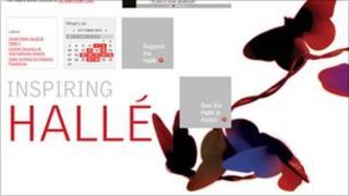 Halle website