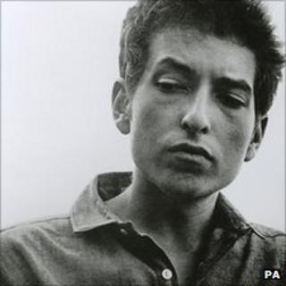 Picture of Bob Dylan for the cover of the singer's The Times They Are A-Changing album by Barry Feinstein