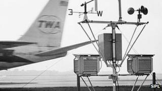 Weather station at airport