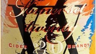 Somerset Cider Brandy Damien Hirst design