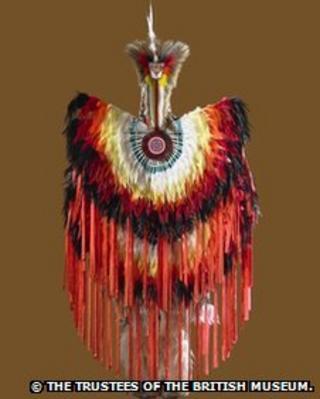 Native American dance regalia