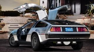 DeLorean electric car