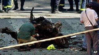 Madrid car bomb