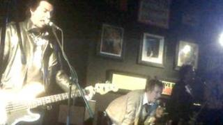 The Sex Pistols Experience recreate 1976 at Caerphilly Workingmen's Hall