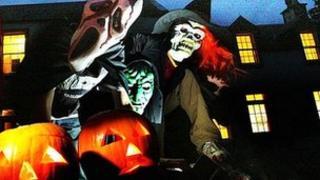Halloween trick or treaters - generic