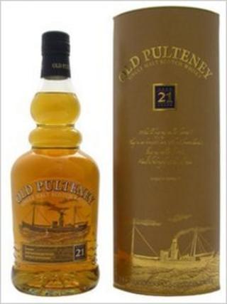 Bottle of Old Pulteney